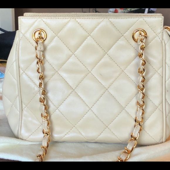 CHANEL Handbags - Chanel Small Shoulder Bag Vintage Quilted Lambskin